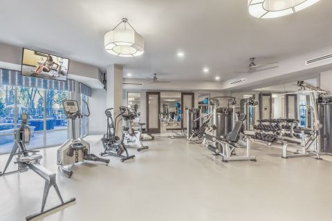 Fitness Center at Camden Carolinian in Raleigh North Carolina