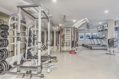 Fitness Center at Camden Carolinian in Raleigh North Carolina