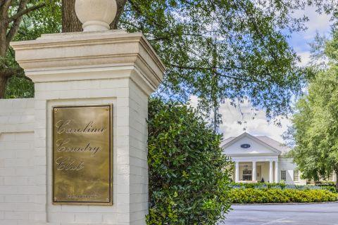 Carolina Country Club adjacent to Camden Carolinian in Raleigh North Carolina