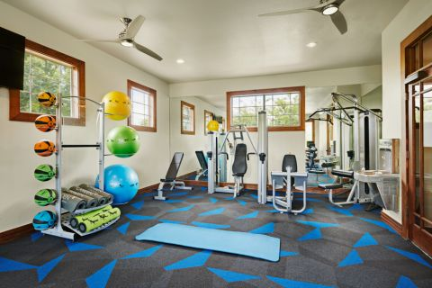 Fitness Center at Camden Cedar Hills Apartments in Austin, TX
