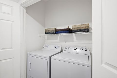 Laundry Room at Camden Cedar Hills Apartments in Austin, TX