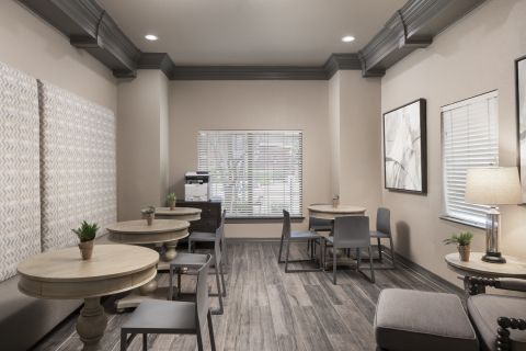 Community Workspace at Camden Centreport Apartments in Ft. Worth, TX