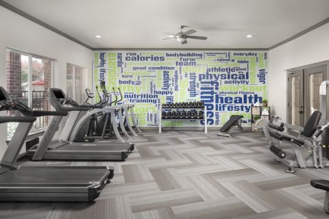 Fitness Center at Camden Centreport Apartments in Ft. Worth, TX