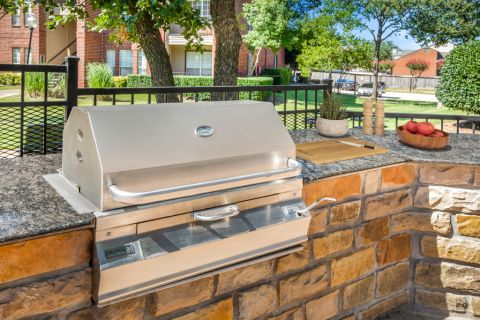 Outdoor Grills at Camden Centreport Apartments in Ft. Worth, TX