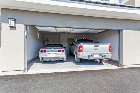 Two Car Attached Garages at Camden Chandler Apartments in Chandler, AZ