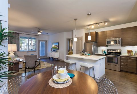 Open Concept Floor Plan at Camden Chandler Apartments in Chandler, AZ