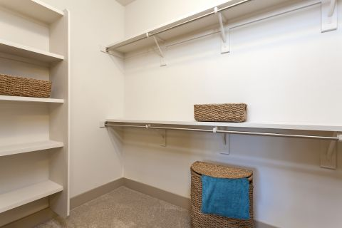 Walk-In Closets at Camden Chandler Apartments in Chandler, AZ