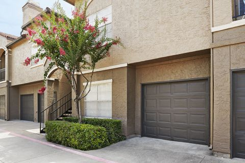 Attached Garage at Camden Cimarron Apartments in Irving, TX