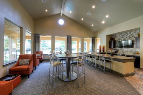 Resident Lounge at Camden Cimarron Apartments in Irving, TX