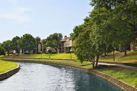 Valley Ranch Canal Trails Close to Camden Cimarron Apartments in Irving, TX