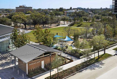Midtown Park near Camden City Centre Apartments in Houston, TX