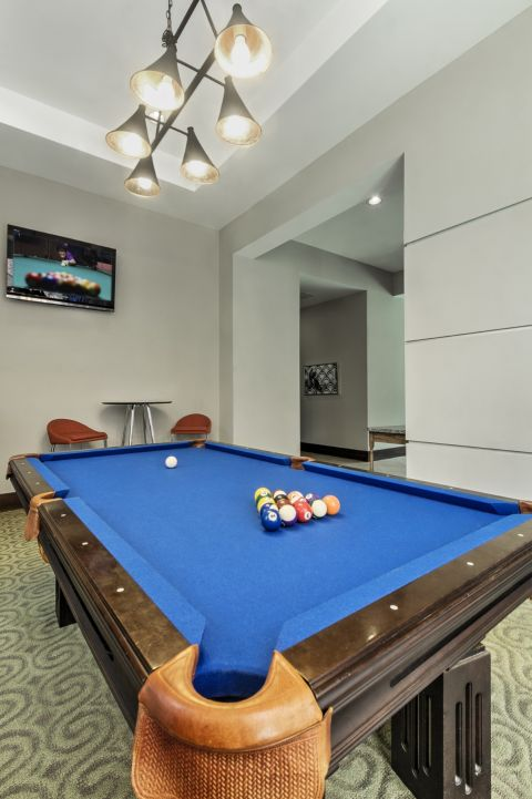 Game Room at Camden College Park Apartments in College Park, MD