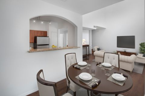 Dining Area at Camden Copper Square Apartments in Phoenix, AZ