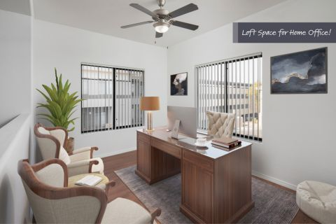 Loft Space for a Home Office at Camden Copper Square Apartments in Phoenix, AZ