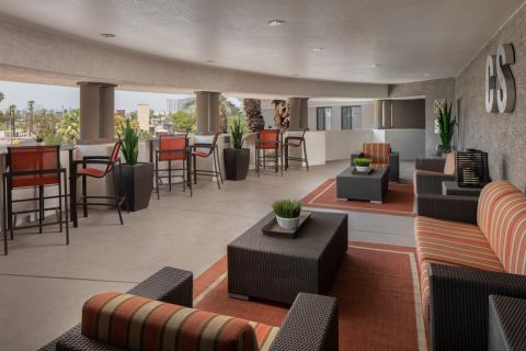 Outdoor Lounge at Camden Copper Square Apartments in Phoenix, AZ