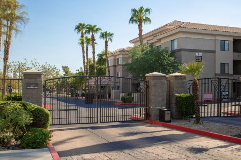 Secure Community Access at Camden Copper Square Apartments in Phoenix, AZ
