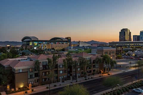 View of Baseball Park at Camden Copper Square Apartments in Phoenix, AZ