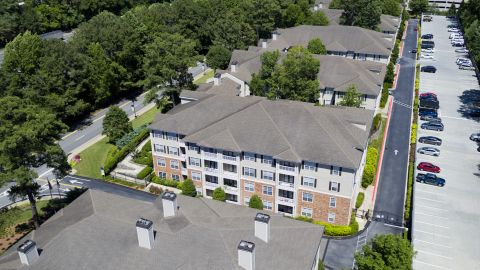 Apartment Buildings at Camden Creekstone Apartments in Atlanta, GA