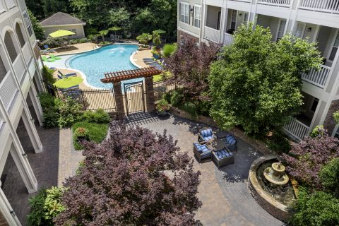 Zen Garden at Camden Creekstone Apartments in Atlanta, GA
