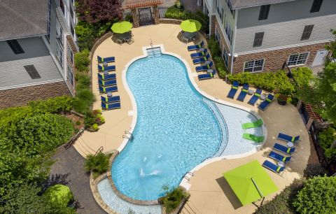 Pool at Camden Creekstone Apartments in Atlanta, GA