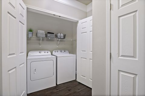 Pet Friendly Building Laundry Room at Camden Crest Apartments in Raleigh, NC
