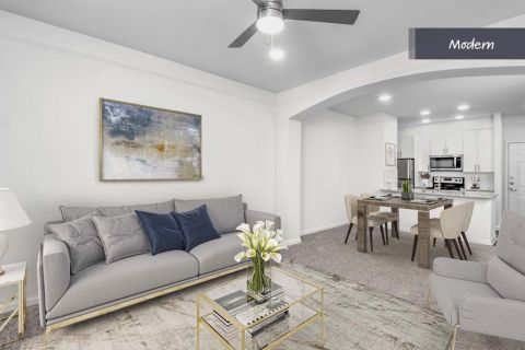 Modern Style Open Concept Living at Camden Crest Apartments in Raleigh, NC