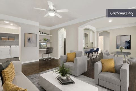 Contemporary Style Open Living at Camden Crest Apartments in Raleigh, NC