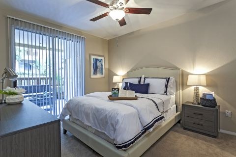 Bedroom at Camden Crown Valley Apartments in Mission Viejo, CA
