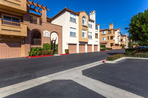 Attached Garages at Camden Crown Valley Apartments in Mission Viejo, CA