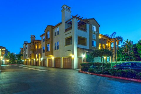 Exterior of Building at Camden Crown Valley Apartments in Mission Viejo, CA