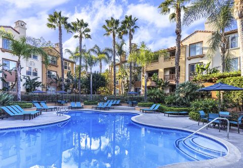Swimming Pool at Camden Crown Valley Apartments in Mission Viejo, CA