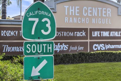 Toll Road 73 access 1 mile away at Camden Crown Valley Apartments in Mission Viejo, CA