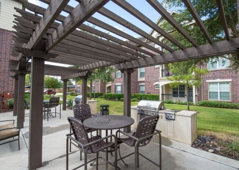BBQ Grills at Camden Cypress Creek Apartments in Cypress, TX