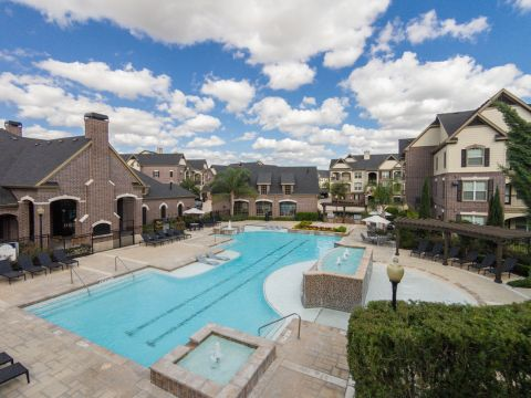 Lap Pool at Camden Cypress Creek Apartments in Cypress, TX