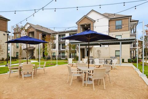 Courtyard at Camden Cypress Creek Apartments in Cypress, TX