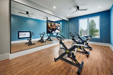 Fitness at Camden Cypress Creek Apartments in Cypress, TX