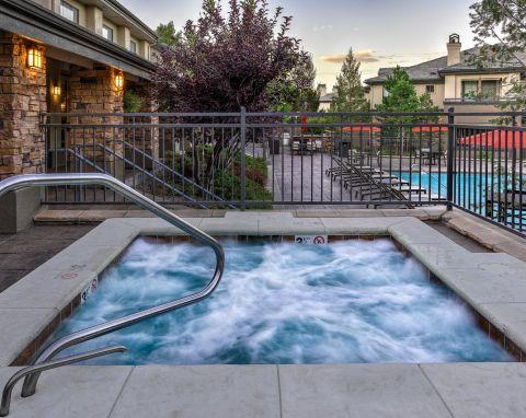 Hot Tub at Camden Denver West Apartments in Golden, CO