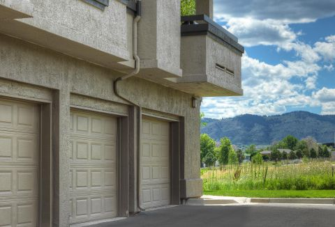 Attached Garages at Camden Denver West Apartments in Golden, CO