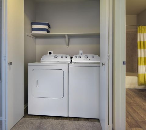 Washer and Dryer at Camden Denver West Apartments in Golden, CO