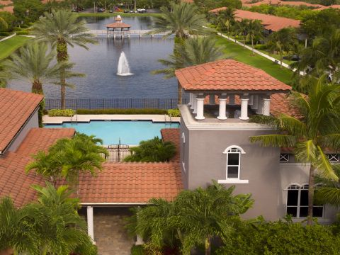 Aerial at Camden Doral Villas Apartments in Doral, FL