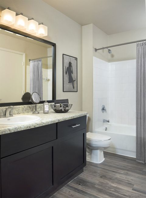 Bathroom at Camden Doral Villas Apartments in Doral, FL