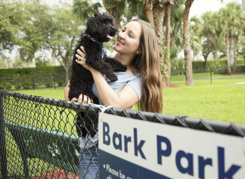 Dog Park at Camden Doral Villas Apartments in Doral, FL