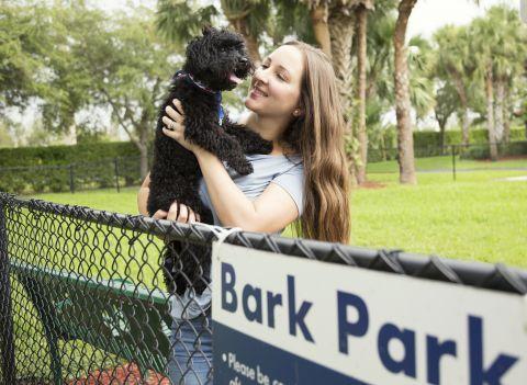 Dog Park at Camden Doral Villas Apartments in Doral, FL