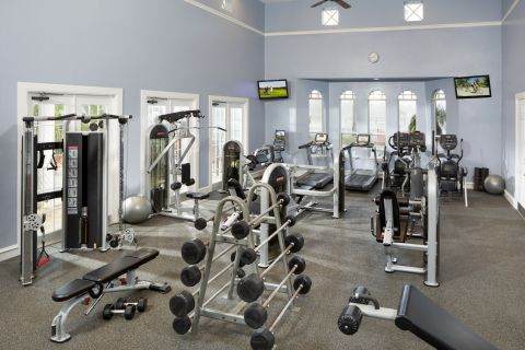 Fitness Center at Camden Doral Villas Apartments in Doral, FL