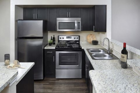Kitchen at Camden Doral Villas Apartments in Doral, FL