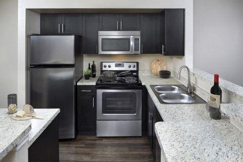 Kitchen at Camden Doral Villas Apartments in Doral, FL
