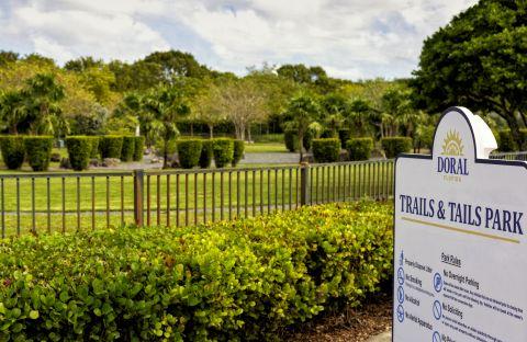 Tails and Trails near Camden Doral Villas Apartments in Doral, FL