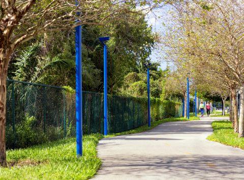 Walking Trail near Camden Doral Villas Apartments in Doral, FL