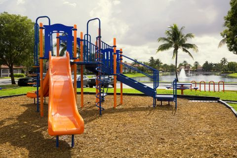 Playground at Camden Doral Villas Apartments in Doral, FL