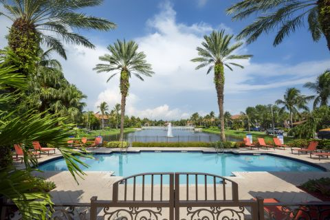 Pool at Camden Doral Villas Apartments in Doral, FL